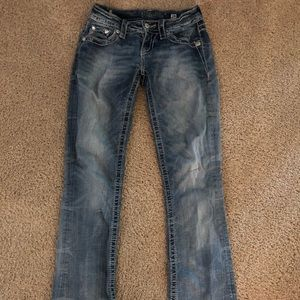 Miss Me bootcut jeans size 24